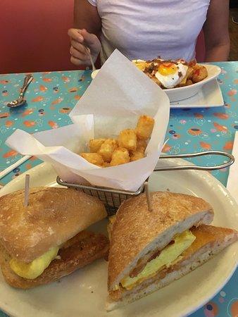 Big Daddy's: Food was decent.