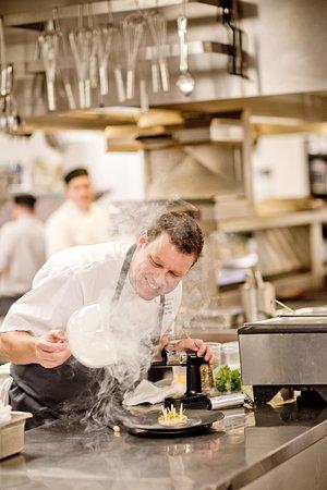 Chef Jason Parsons, The Winery Restaurant at Peller Estates