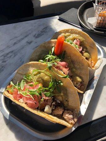 The Outsider: Crispy Pork Belly Tacos