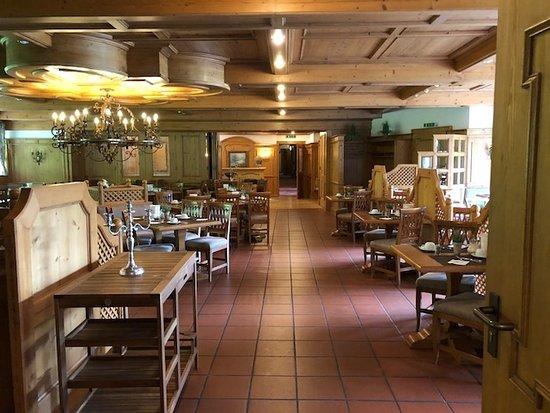 Hotel Blaue Gams: Restaurant