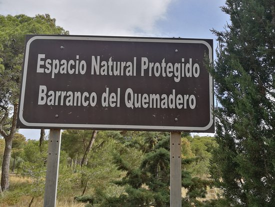 Mirador del Barranco del Quemadero: CARTEL