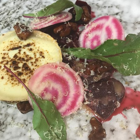Gregory's Garden: Beetroot & Goats Cheese
