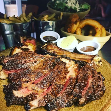 Gregory's Garden: Cote de Boeuf for two