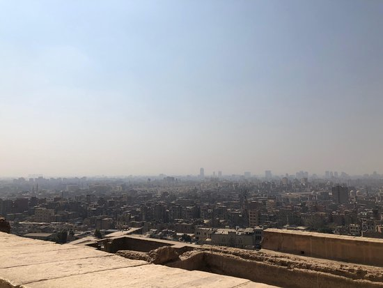 Mohamed Ali Mosque: View from back of Cairo