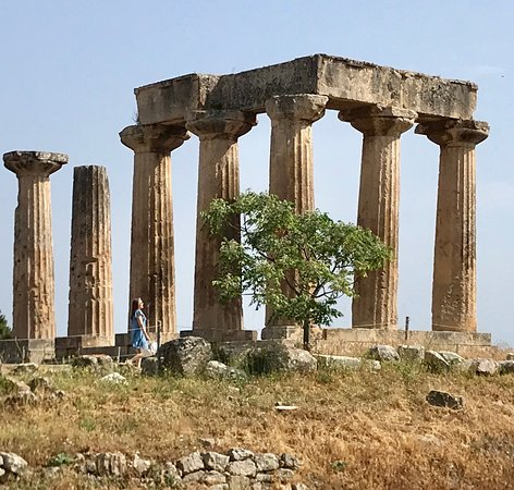 Private Greece Tours: Remains of Apollo's Temple