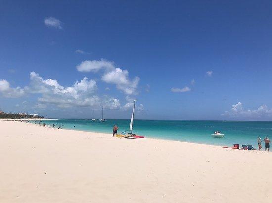 Grace Bay Beach: PRAIA DE GRACE BAY