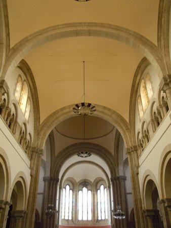Notre-Dame de Locmaria : Le plafond vers le choeur
