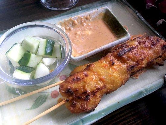 Plainville, كونيكتيكت: Chicken Satay...delicious!!!