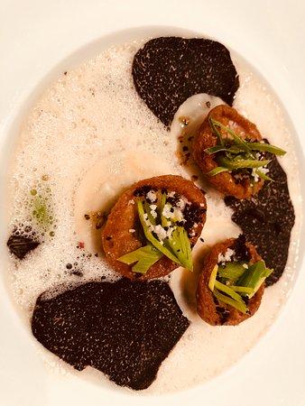Restaurant de l'Hotel de Ville Crissier: de la truffe et des poireaux à tomber