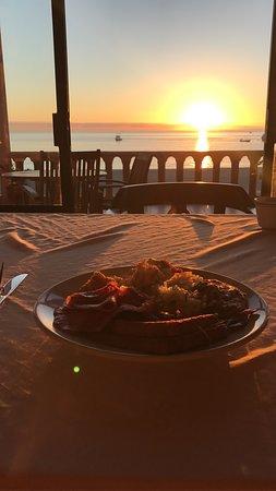 Hotel Palmas de Cortez: Breakfast view on our final morning
