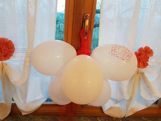 Caprafico, Italy: La struttura può ospitare eventi speciali come feste aziendali, cresime e comunioni