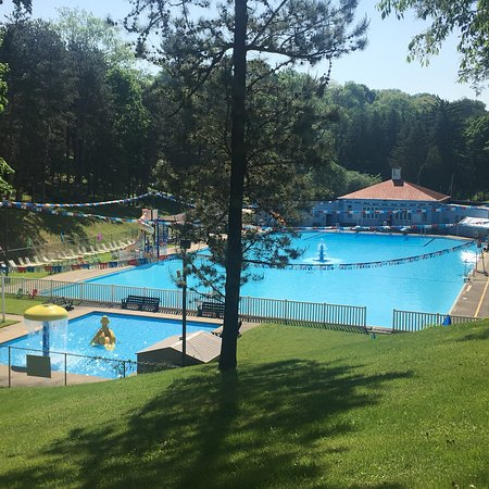 Gorgeous setting for the Giant Town Park Pool in Canonsburg!