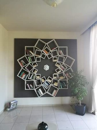 Park Hotel & Spa: Book library