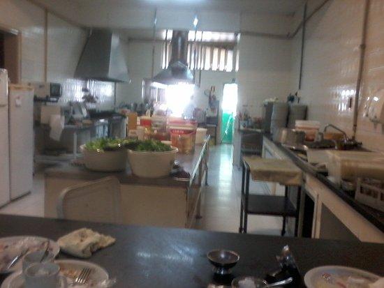 Restaurante do Clube do Comércio : Restaurante - Cozinha