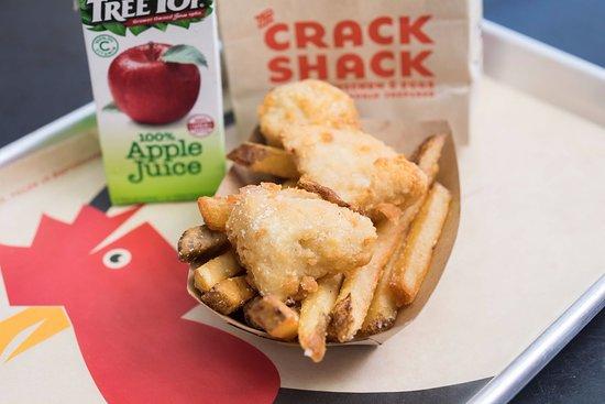 The Crack Shack - Encinitas: kids meal