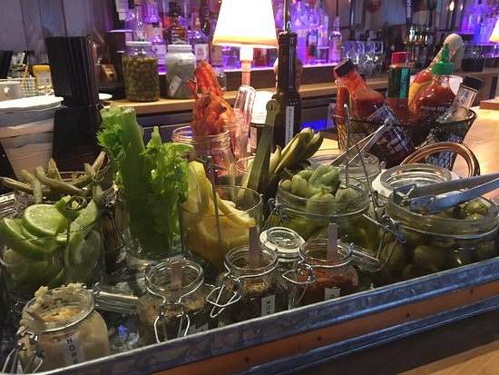 New Harbor, ME: Sunday Brunch with our Bloody Mary Bar every Sunday from 10:30-3:00