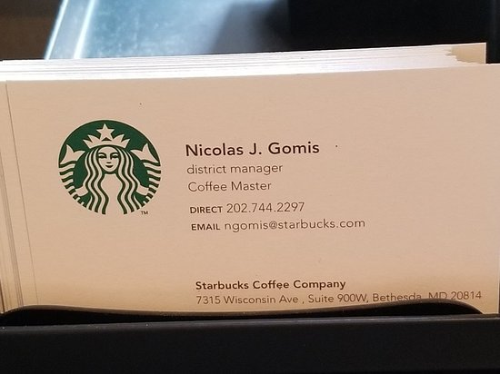 Business card picture of starbucks washington dc tripadvisor starbucks business card colourmoves