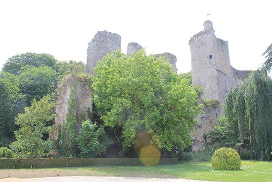 ruines du château de Vendôme
