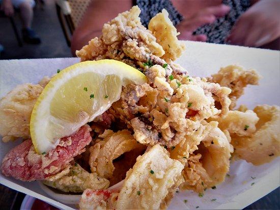 Bubba Gump Shrimp Co.: calamari