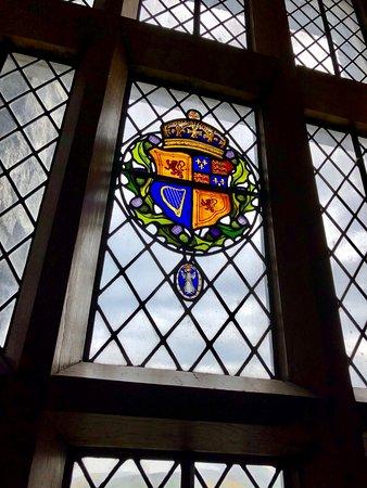 ปราสาทเอดินเบิร์ก: Beautiful stained glass