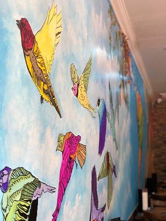 Kew Gardens, NY: pretty wall