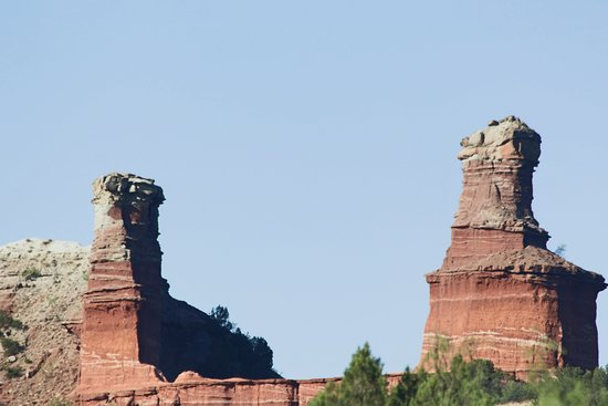 Palo Duro Canyon State Park: The Light house.