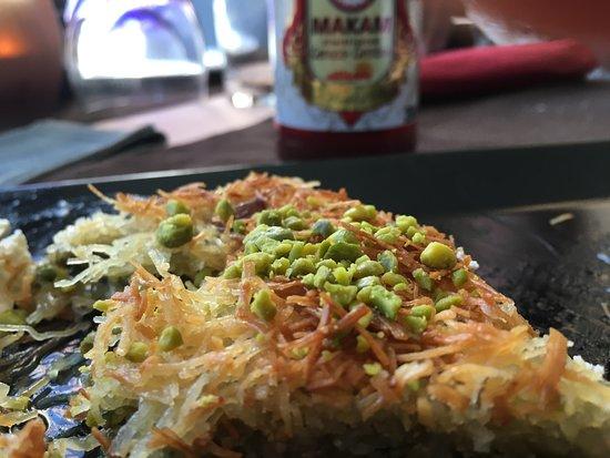 Kekik: Nachtisch mit Pistazinen