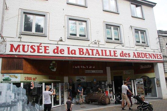 Musee de la Batailee Des Ardennes : Eingang