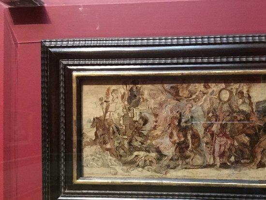 """หอศิลป์เอ็นเอสดับบลิว: One more Rubens. Scetch for """"Triumphal entry of Henri IV in Paris""""."""