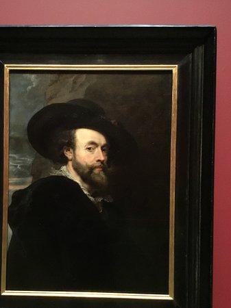 หอศิลป์เอ็นเอสดับบลิว: Self-portrait of Rubens. Not only in the world.