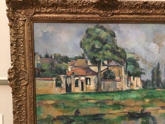 หอศิลป์เอ็นเอสดับบลิว: Paul Sezanne. The banks of Marne.