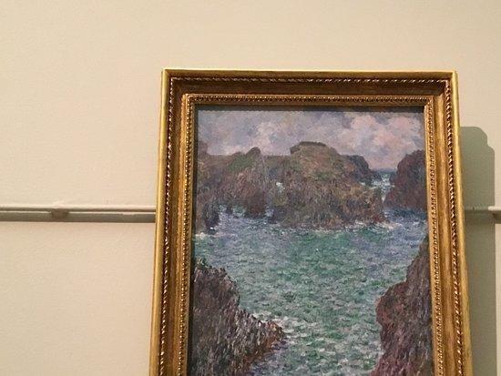 หอศิลป์เอ็นเอสดับบลิว: Claude Monet. Port-Gulphar.