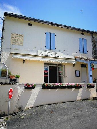 Brasserie Saint Thomas: façade du Saint Thomas