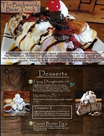 Saint Ignatius, Μοντάνα: Dessert