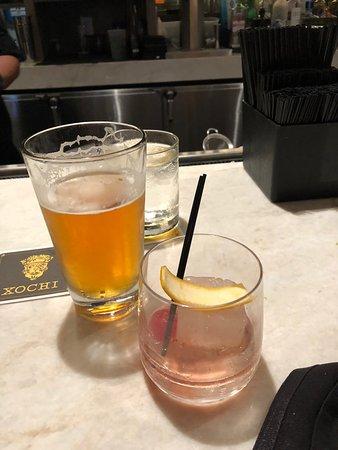 Xochi : pre dinner drinks