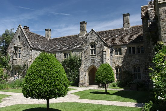 Nymans Gardens and House: The House