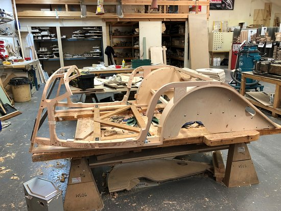 Morgan Motor Company Yes Cars Really Do Have A Wooden Sub Frame