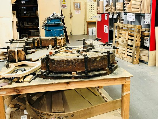Morgan Motor Company: Legendary ancient jig fo creating curved wooden parts