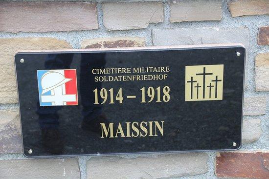 Maissin, België: Eingang