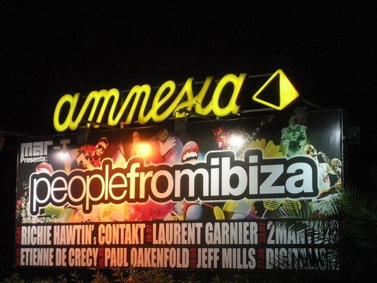 San Rafael, إسبانيا: Amnesia