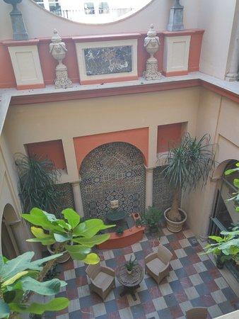 Casa Romana Hotel Boutique: Patio interior del Hotel