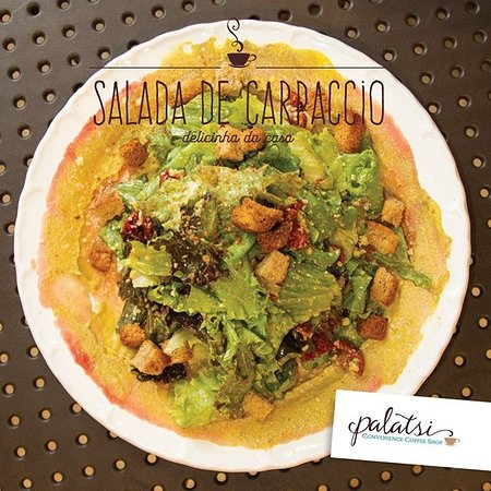 Palatsi Convenience Coffee Shop: SALADA DE CARPACCIO