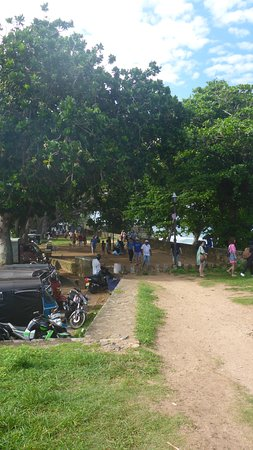 Old Town of Galle and its Fortifications: Picnic area