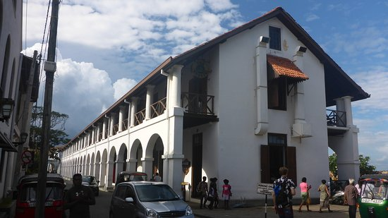 Old Town of Galle and its Fortifications: Old hospital