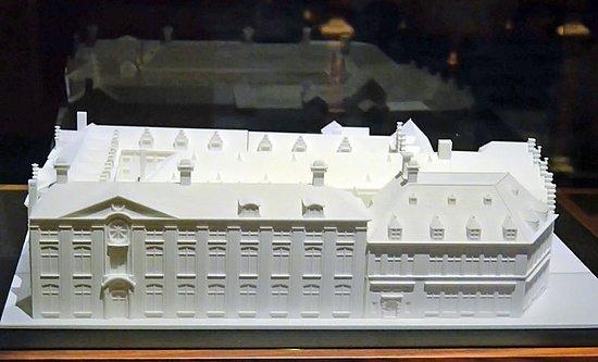 """Museum Plantin-Moretus: Maquette de l'ensemble du """"palais Plantin"""""""