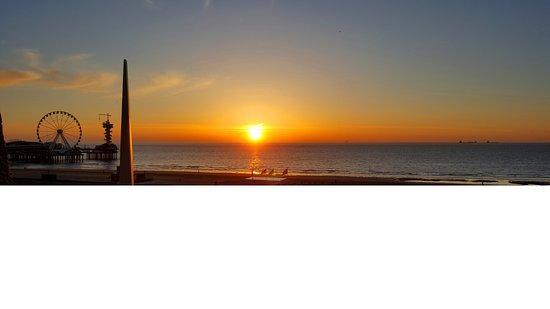 Carlton Beach: The view from my balcony