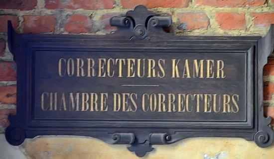 Musée Plantin-Moretus: Entrée de la Chambre des correcteurs à partir du jardin
