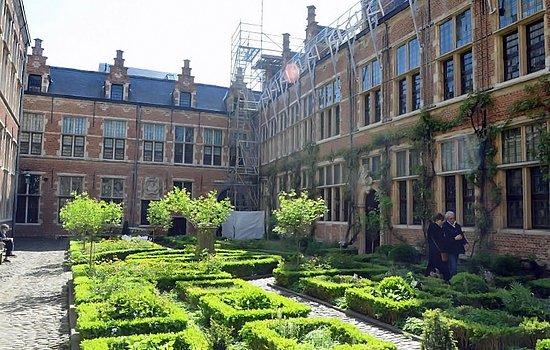 Museum Plantin - Moretus: Le jardin