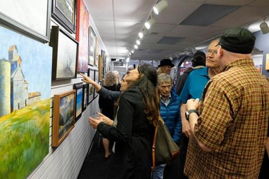 Lincoln Gallery: Opening night for the National Fine Art Show 2018