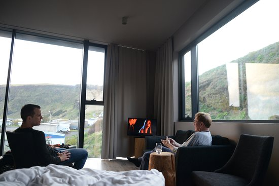 Icelandair Hotel Vik: Photo taken from our room